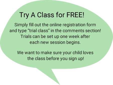 Try a class for free!